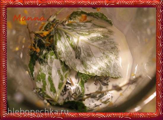 Бараньи котлеты в сливочно-мятном соусе (мультиварка KitchenAid)