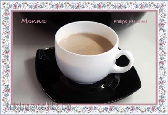 Шоколадная манная каша в мультиварке Philips HD3060