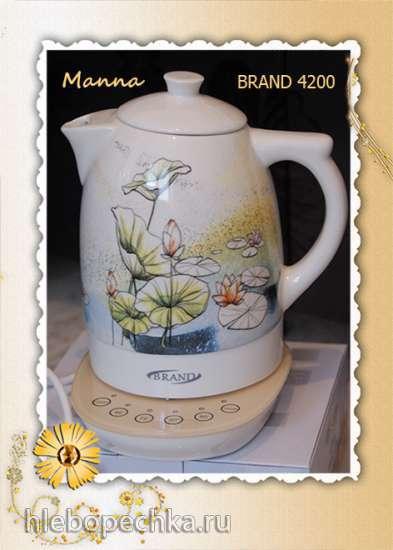Электрические керамические чайники Brand