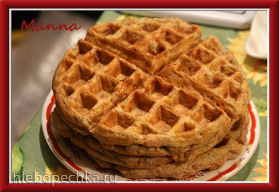 Вафли с беконом (вафельница KitchenAid Artisan)