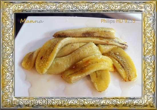 Бананы, запеченные в мультипечи Philips HD9235