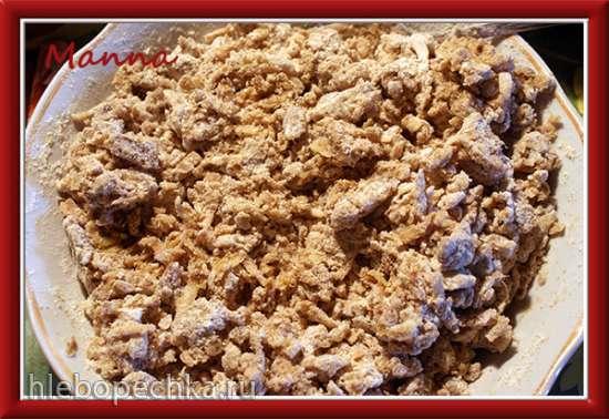 Фруктовые вафли без сахара и яиц (вафельница KitchenAid Artisan)
