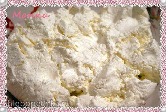 """Творожное мороженое """"Ягодная роза"""" (компрессорная мороженица Nemox Talent Gelato&Sorbet)"""