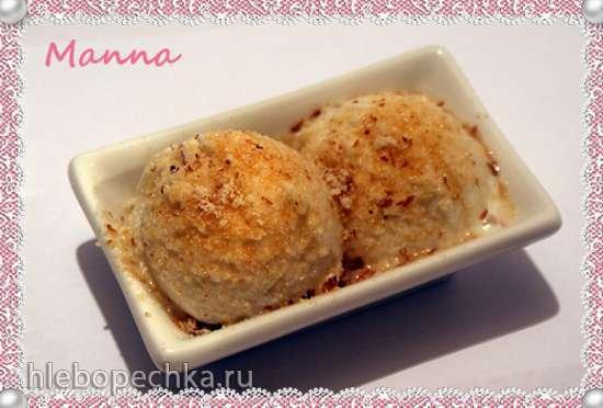 Миндальное мороженое (компрессорная мороженица Nemox Talent Gelato&Sorbet)