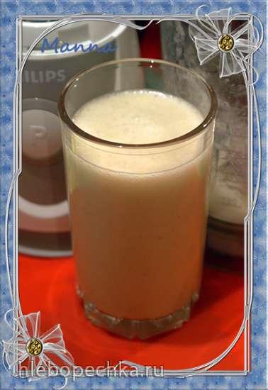 Кокосовый молочный коктейль