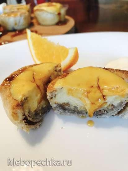 Быстрые пирожные с апельсиновым соусом (рецепт Джейми Оливера)