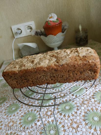 Шведский ночной хлеб  Ленивка  (без замеса)
