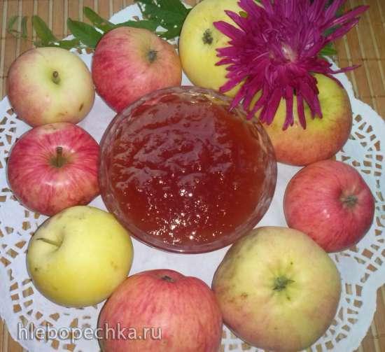 Джем яблочный  Осенний