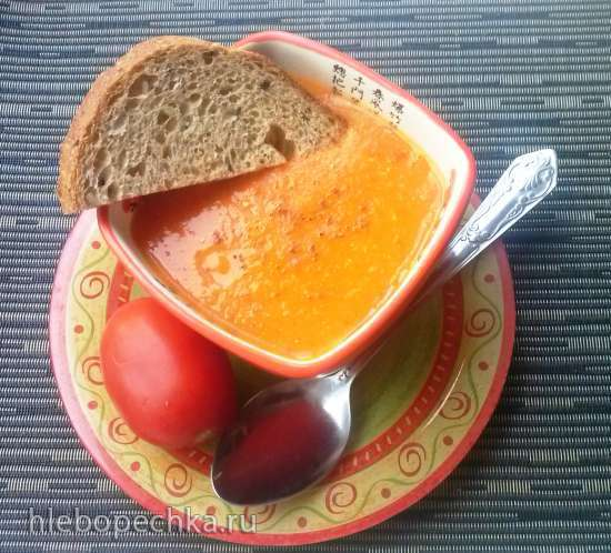 Тыквенный суп-пюре «Бархат»