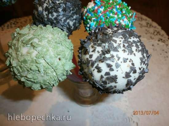 Кейк-попсы и кейк-боллы (Cake Pops и Cake balls)
