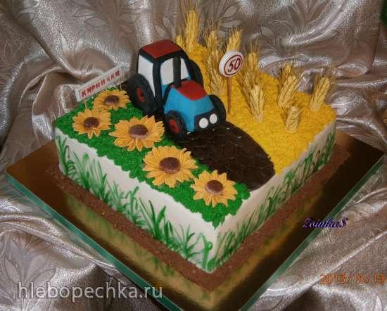 Осень. Урожай. Грибы (торты)