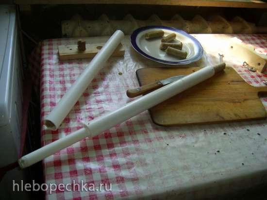 Сосиски в тесте в вафельнице-сосисочнице Пышка-3