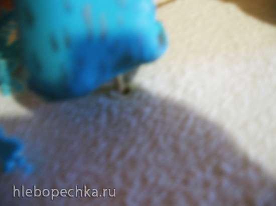 МК укрепления высоких, неустойчивых фигурок на торте