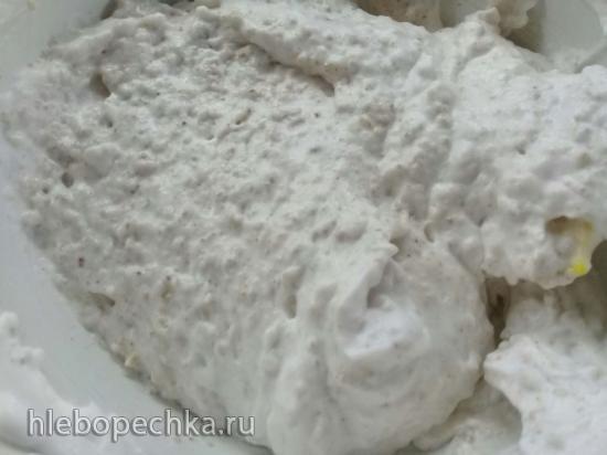 Постный ореховый торт на аквафабе