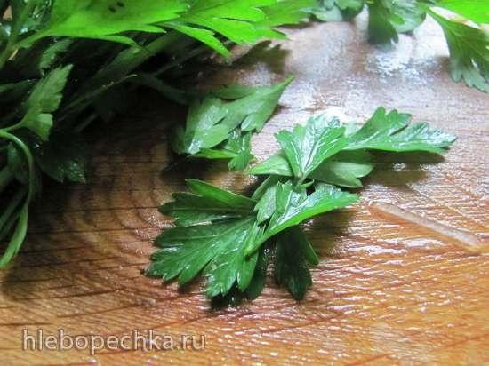 Блины овощные с припеком