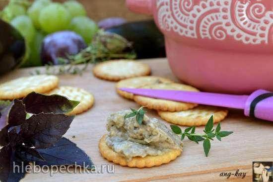 Паштет-крем из баклажанов и грибов