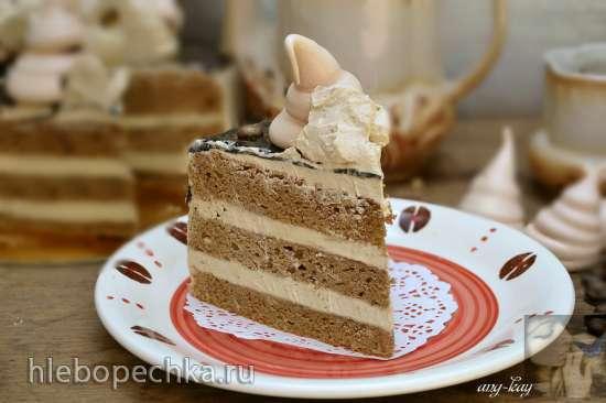 Торт бисквитный «Аромат кофе»