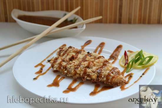 Кокосовая курица в арахисе по-тайски