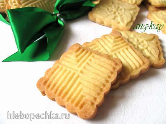 Печенье песочное с рисовой мукой (для штампа)