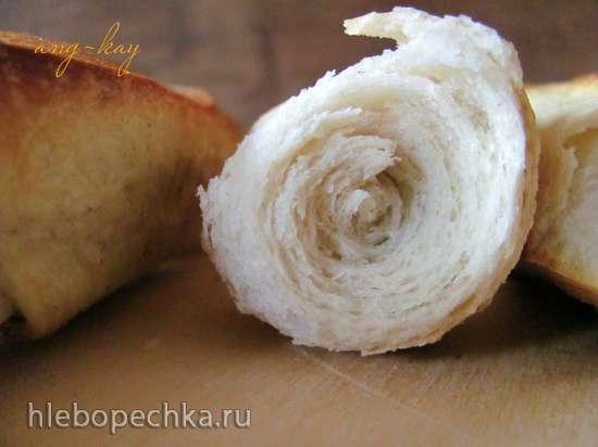 Миланская булочка на закваске