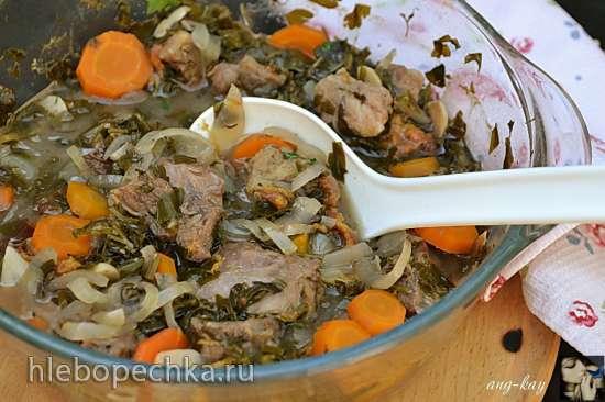 Виноградный салат с творожно-йогуртовой заправкой