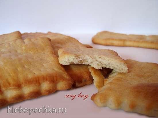 Печенье соленое на закваске