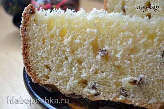 Кулич по рецепту итальянской пасхальной коломбы от Гала на закваске