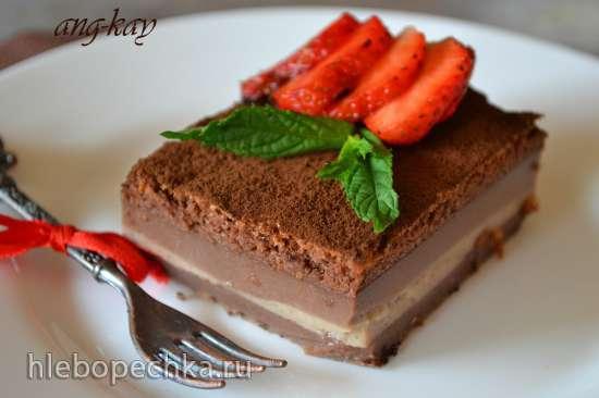 Шоколадный умный пирог