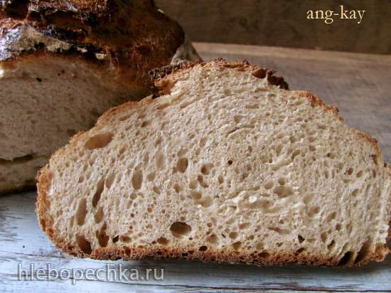 Хлеб пшенично-ржаной на темном пиве