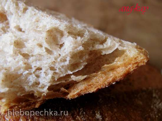 Хлеб пшенично-ржаной без замеса