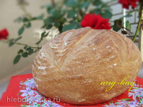 Хлеб на зеленом чае с жасмином