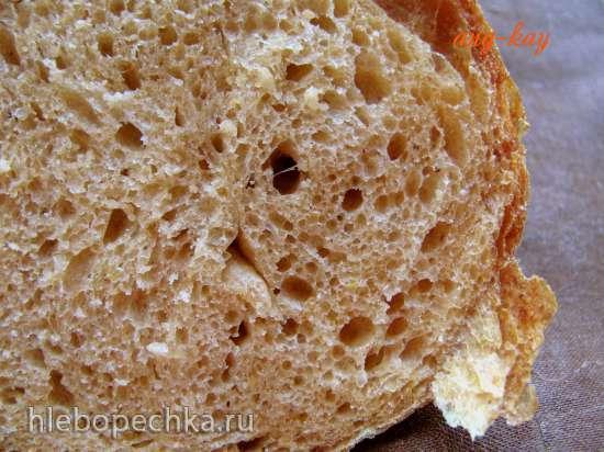 Хлеб с тыквой и тремя видами муки