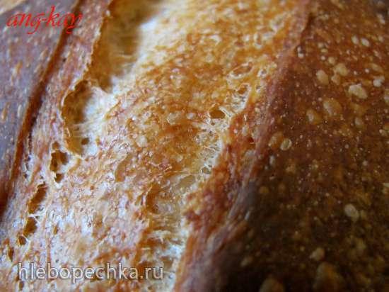Хлеб заварной с нутовой мукой
