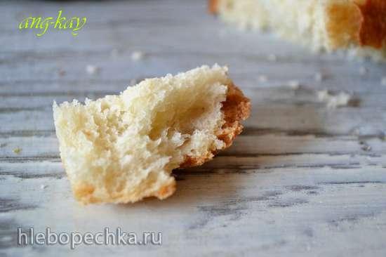 Хлеб пшеничный с кокосовым шротом