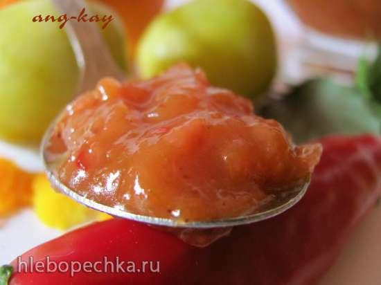 Чатни сливово-яблочный