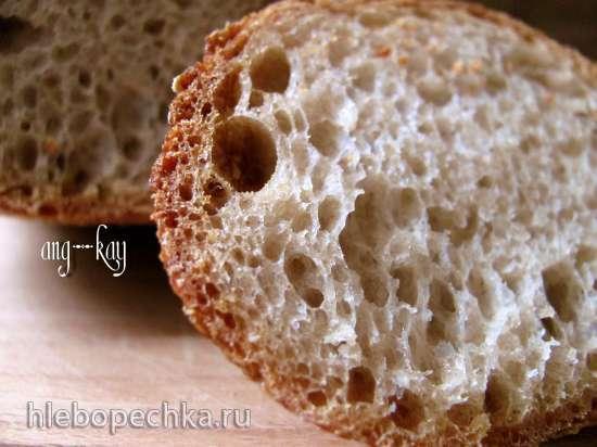 Хлеб пшенично-ржаной с долгой расстойкой