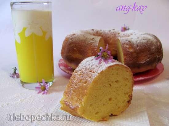 Бразильский кукурузный  заварной кекс (Bolo de fuba)