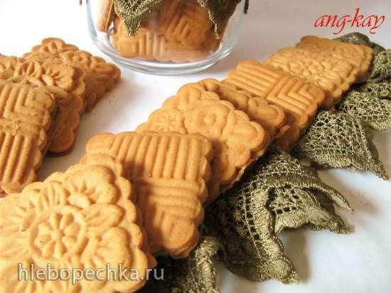 Печенье постное ароматное (для штампа)