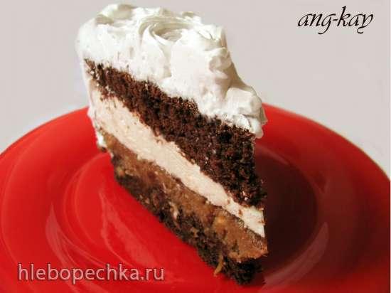 Торт Нутовая фантазия (постный)