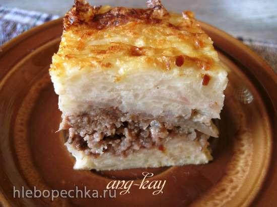 Запеканка картофельная с мясом