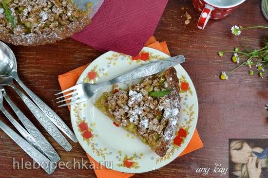 Тарт с ревенем