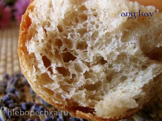 Хлеб с лавандой и гречишным медом