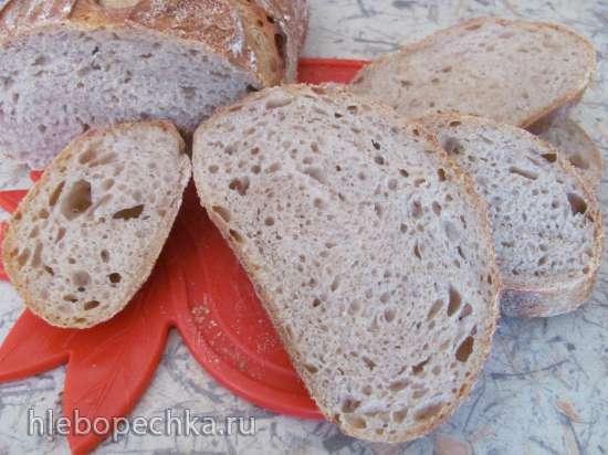 Хлеб на светлом пиве (закваска)