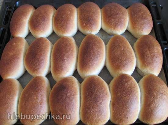 Пирожки постные на закваске (мастер-класс)