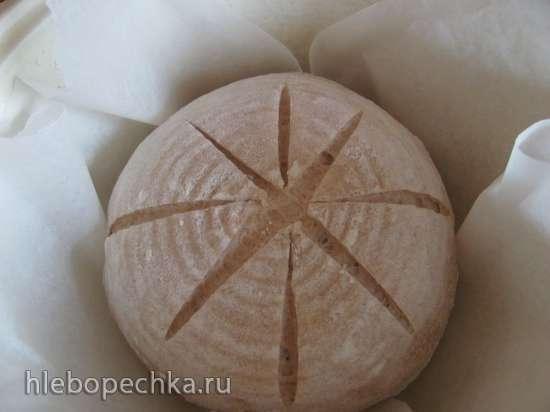 Пшеничный хлеб с амарантовой мукой (мастер-класс)