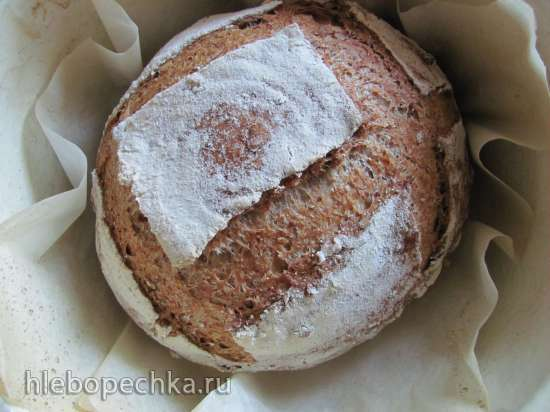 Пшеничный хлеб с горчицей (мастер -класс)