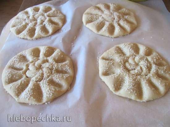 Лепешки чечевичные с луком (постные)