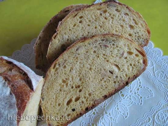 Хлеб тыквенный-солнечный