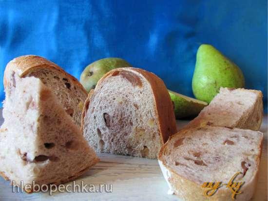 """Хлеб """"Груша"""" с гречневой мукой"""