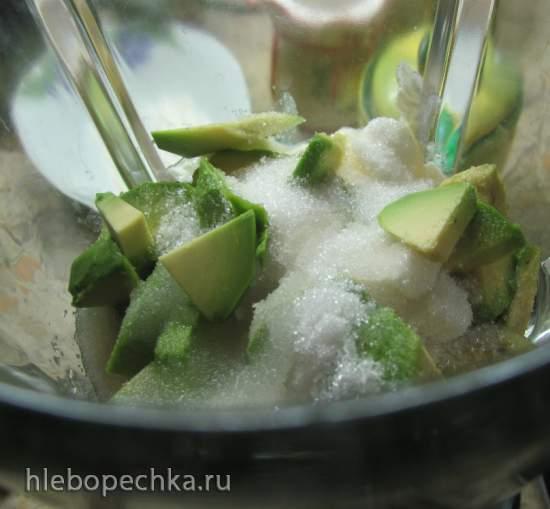 Чизкейк с авокадо без выпечки